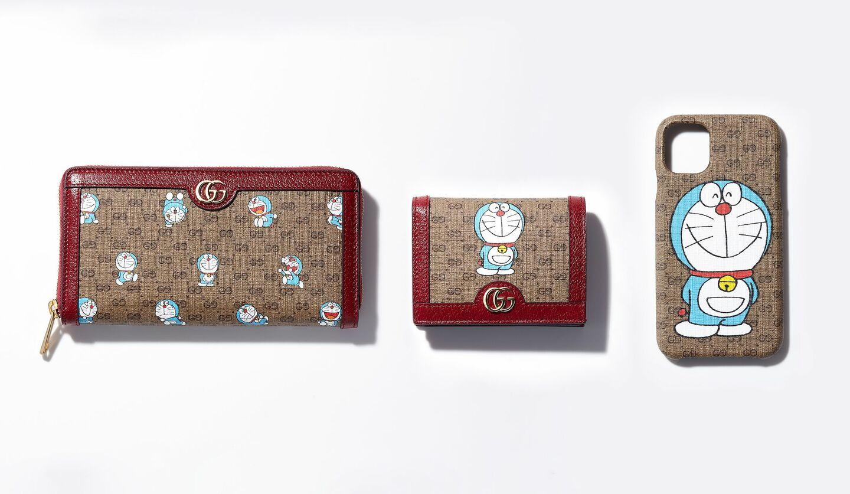 「ドラえもん×グッチ」スペシャルコレクションの財布・ミニ財布・スマホケース