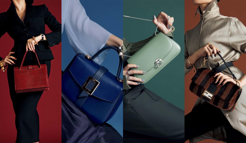ドルチェ&ガッバーナ、ロジェ ヴィヴィエ、モワナ、フェンディのクラシックバッグ