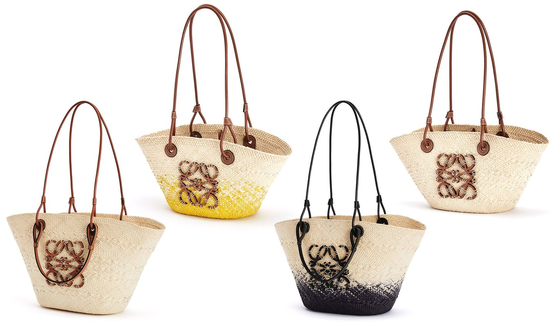 ロエベの新作バッグ「アナグラムバスケット」