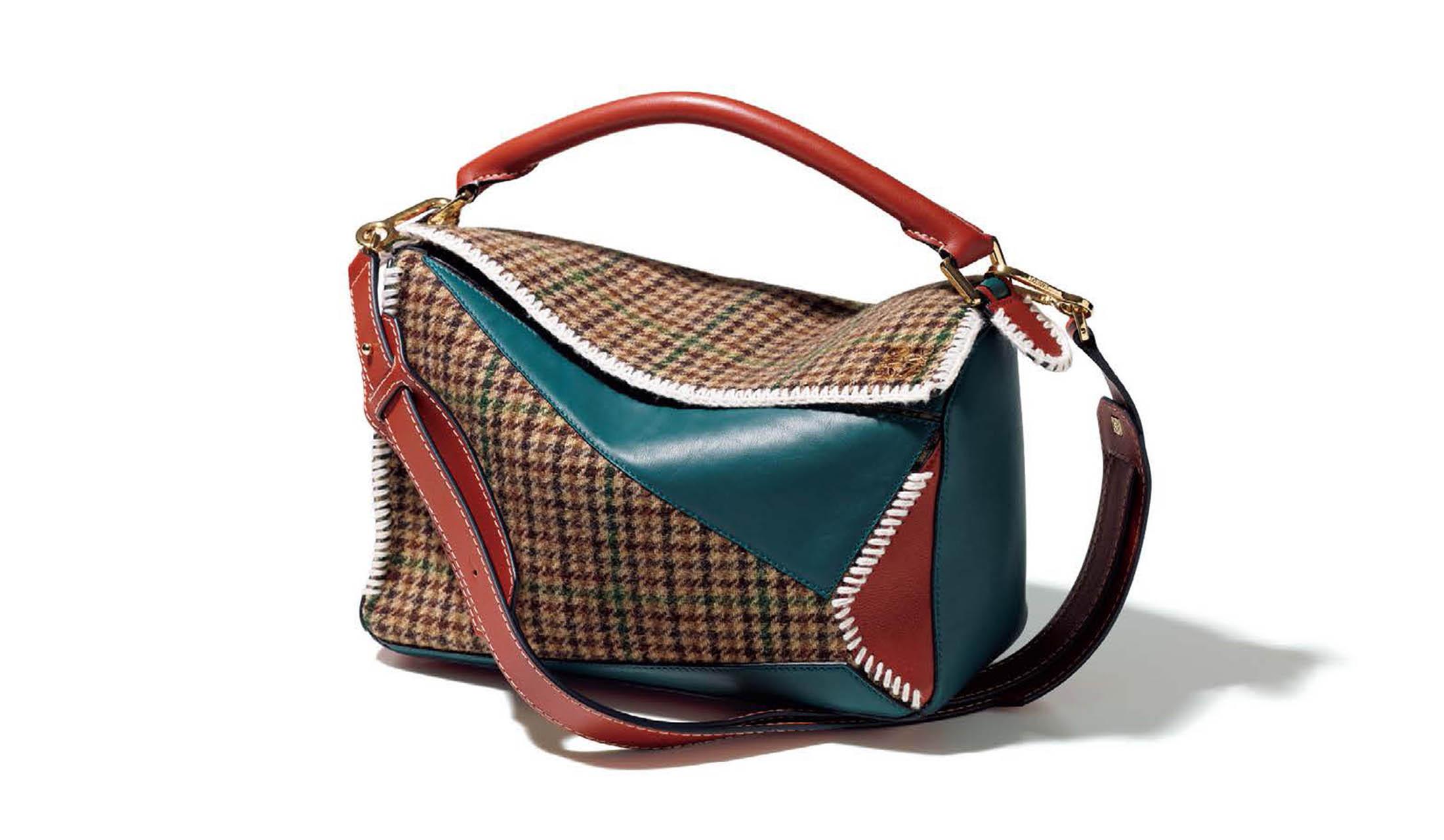 ロエベのバッグ「パズル」