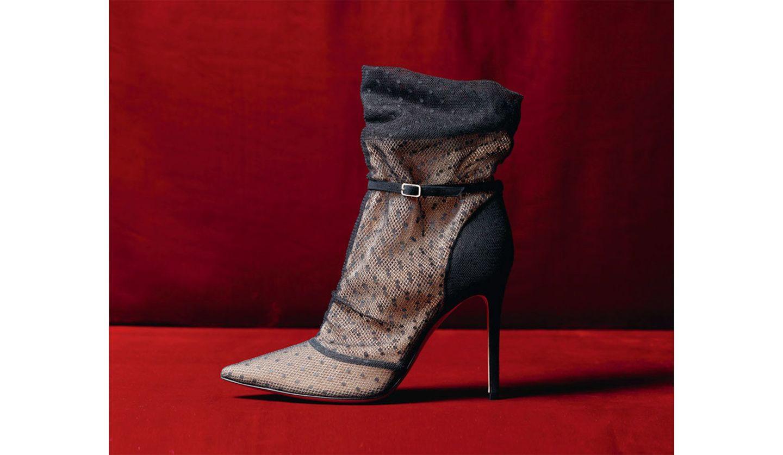 ジャンヴィト ロッシのブーツ「エマニュエル」