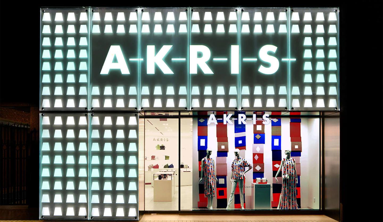 アクリス(Akris)帝国ホテルプラザ店のファサード