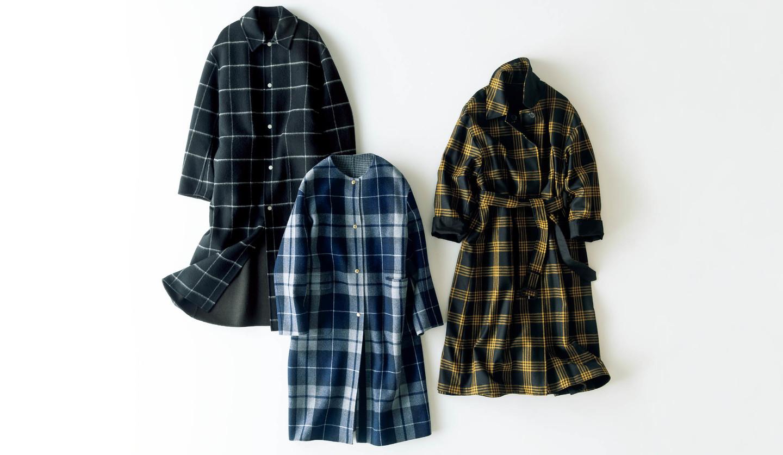 ブラミンク、ドゥロワー、マッキントッシュのコート