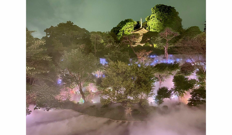 ホテル椿山荘東京の雲海プロジェクト
