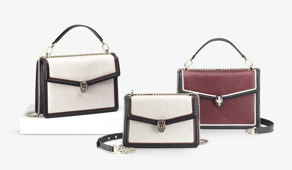 これ1つでたちまちエレガントに!ブルガリのバッグ「セルペンティ」に美しい新型が登場