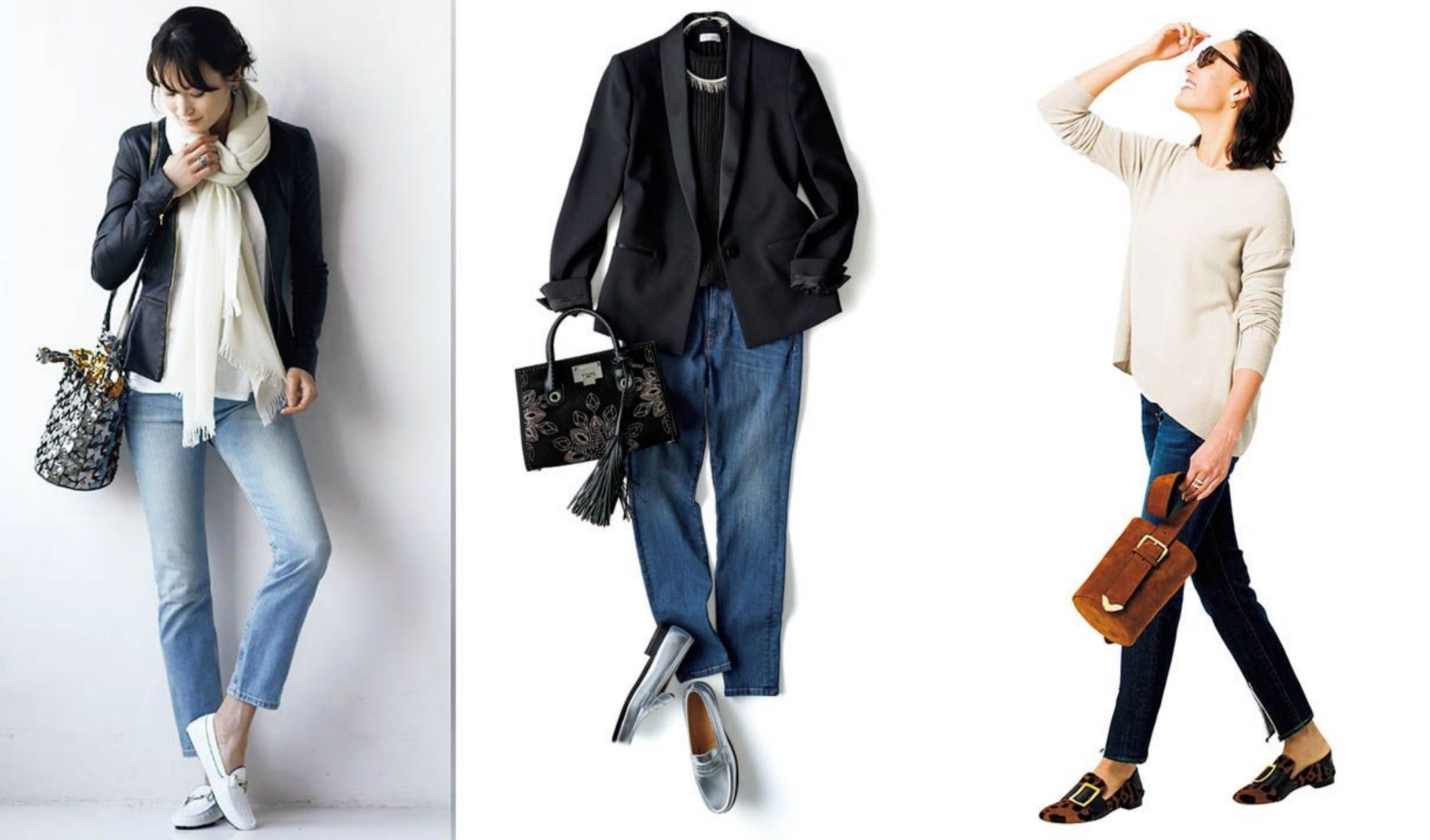40代大人のジーンズ着こなしファッションまとめ