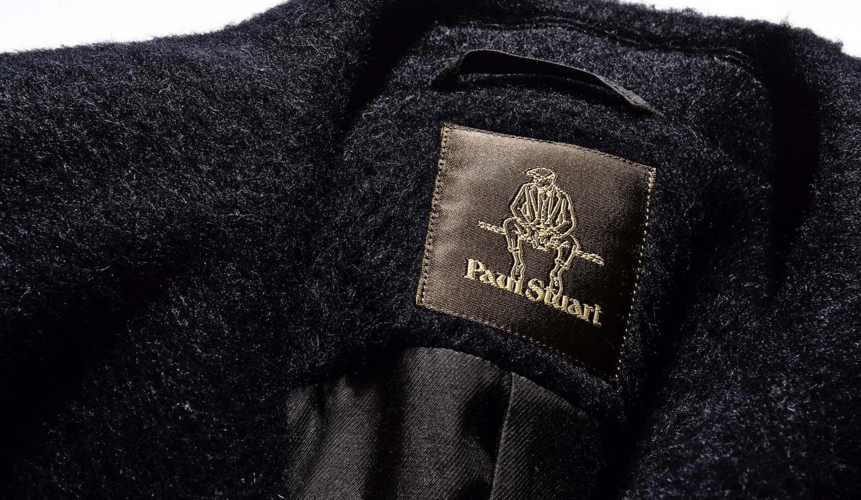 ポール・スチュアートのコレクションライン青山店限定のコート