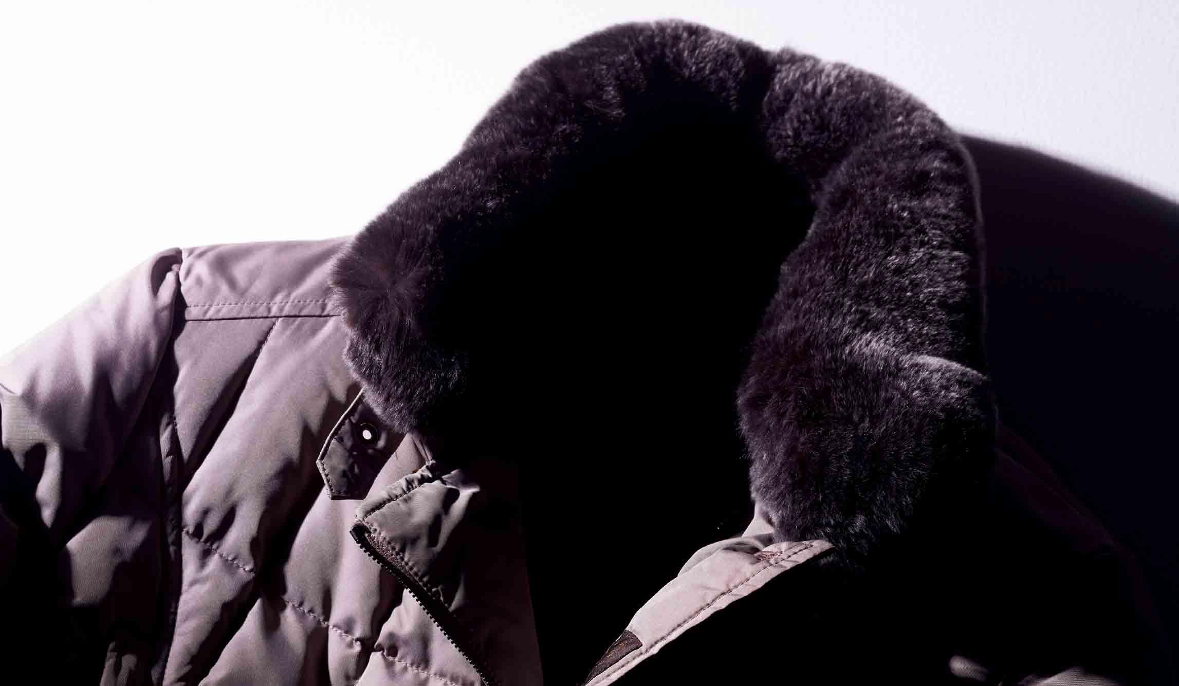 ムーレーのダウンジャケット