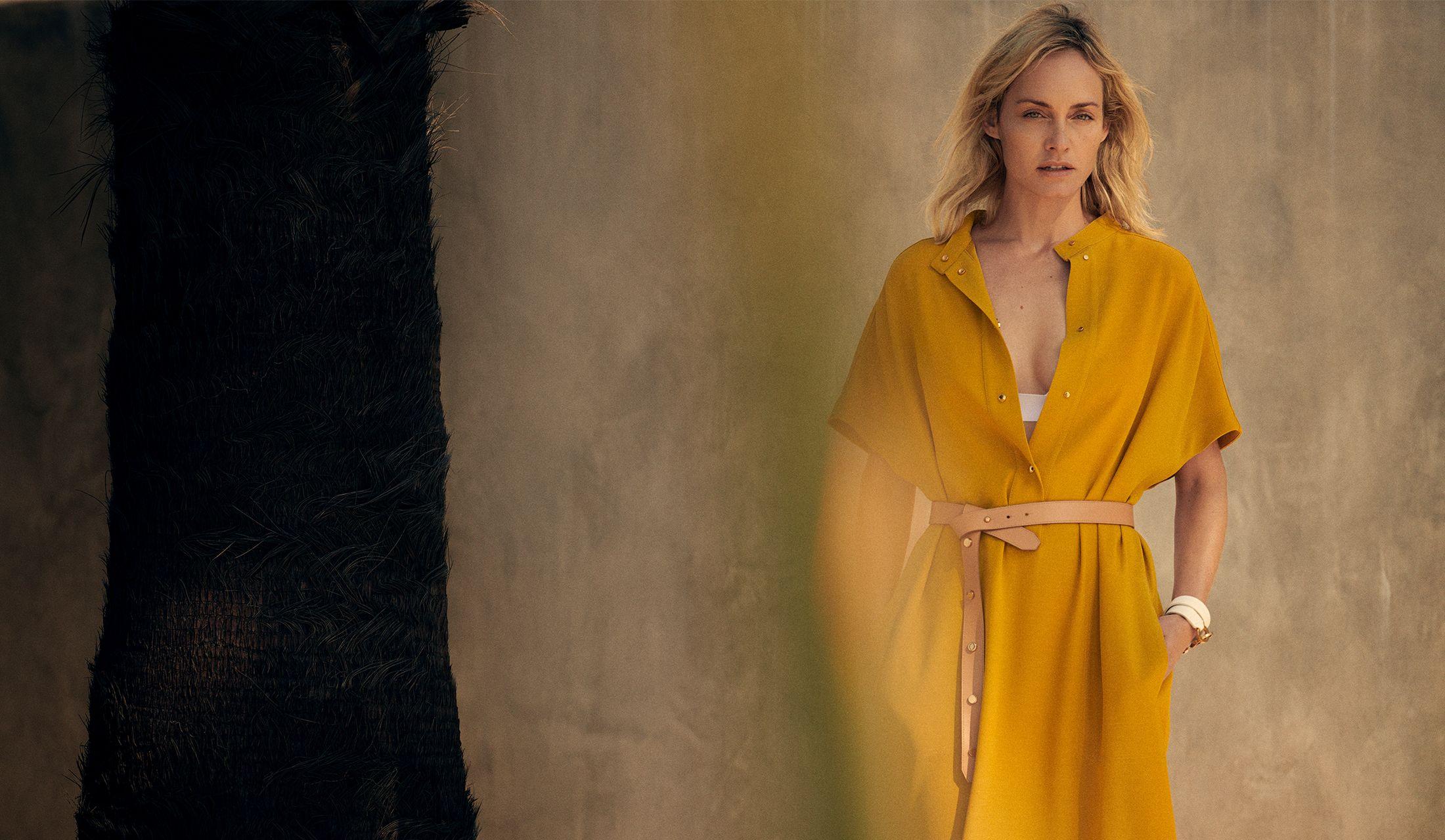 アニオナのデジタルキャンペーンのモデル、アンバー・ヴァレッタ