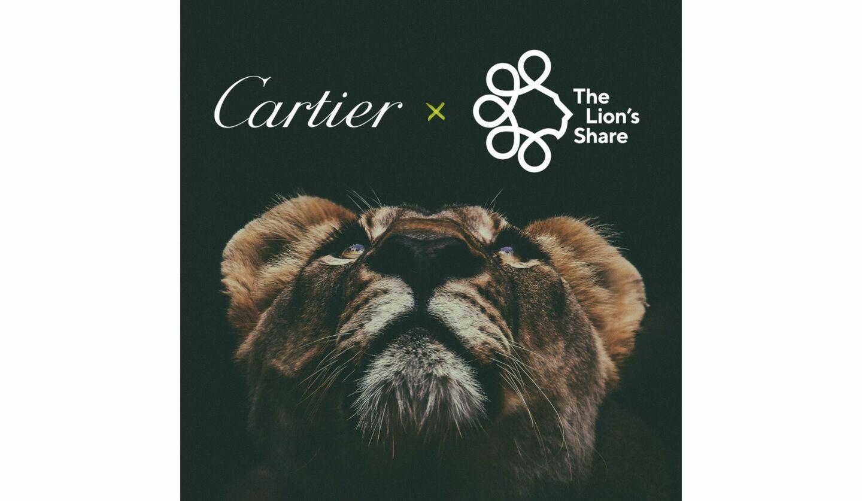 「ライオンズシェア基金」へ加盟したカルティエのイメージ画像