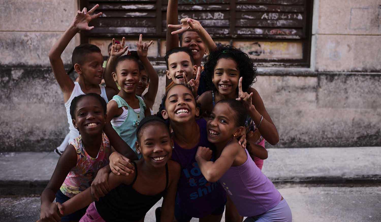 キューバの子供達