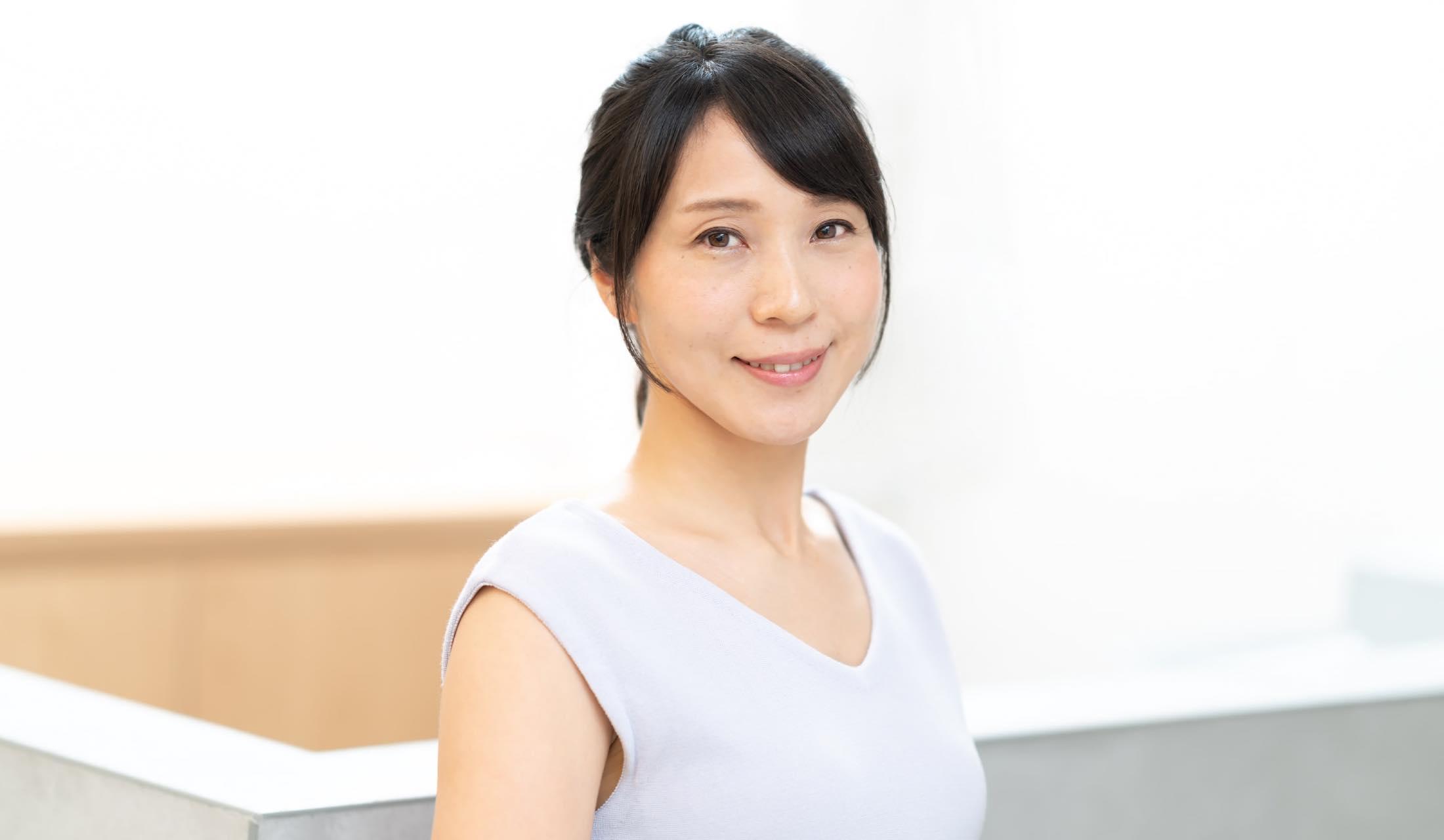 吉成暁子さん(40歳/自営業)の三つ編みヘア