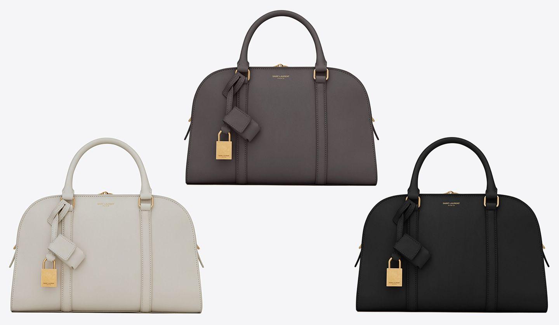サンローランの新作バッグ「ロック ベビーダッフル」
