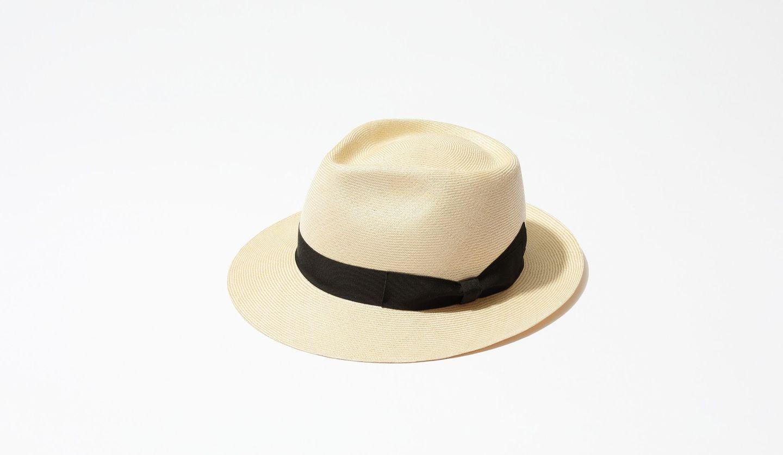 トーキョーハットのパナマ帽