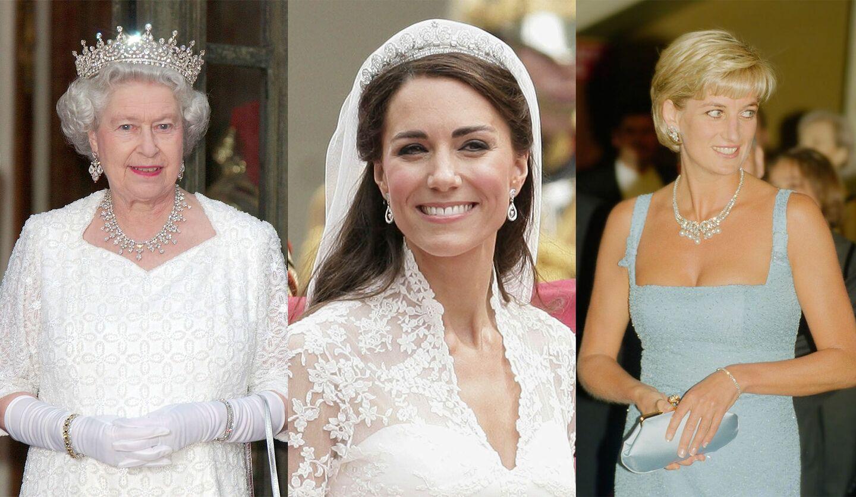 エリザベス女王、キャサリン妃、故ダイアナ元妃