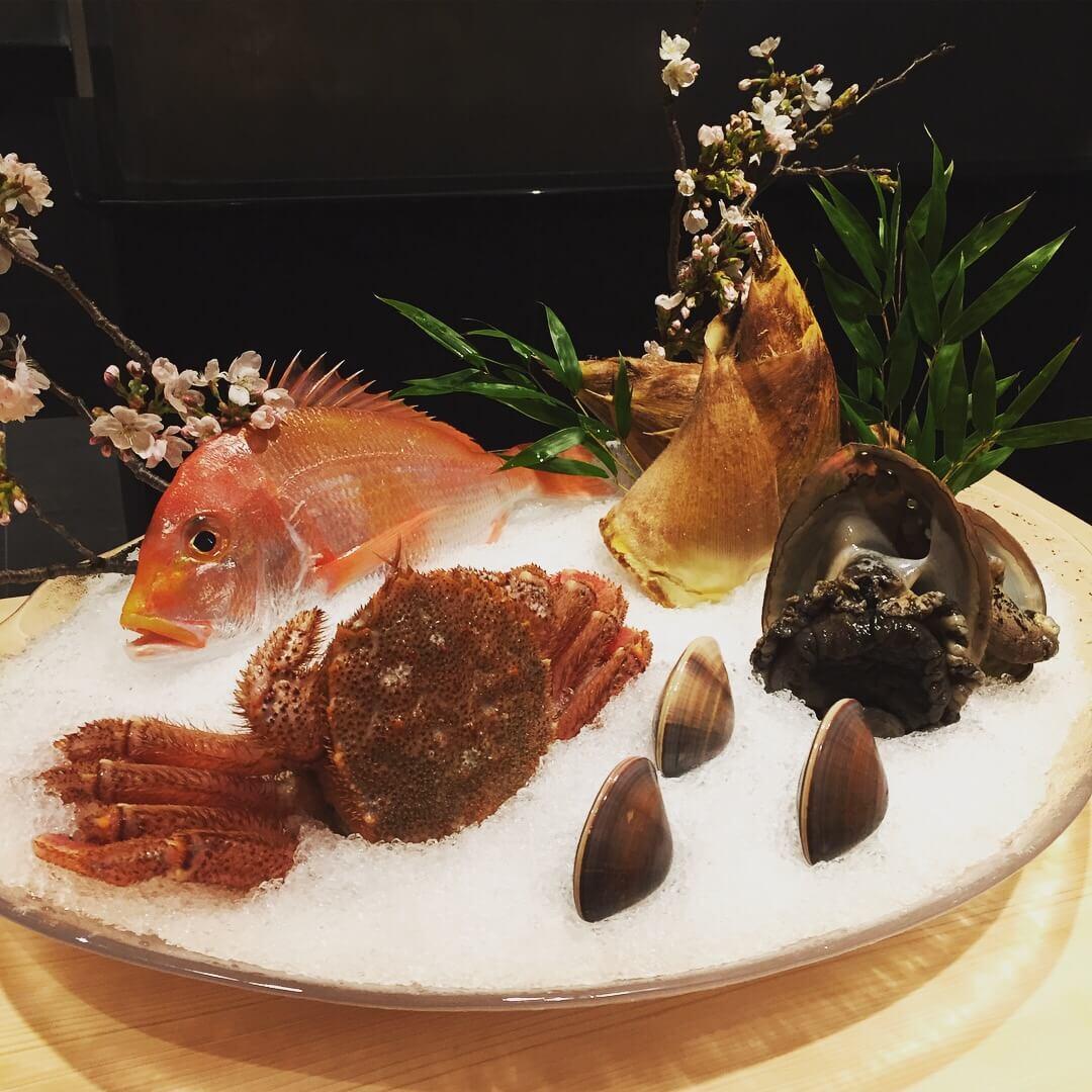 kappou ukai」の食材