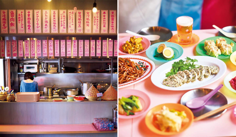 アジア屋台料理店