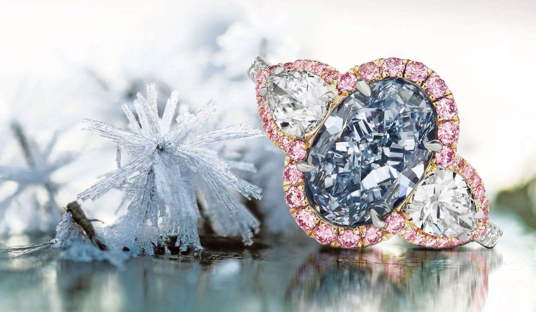 スコットウエスト(SCOTT WEST)のカラーダイヤモンドを使用した指輪