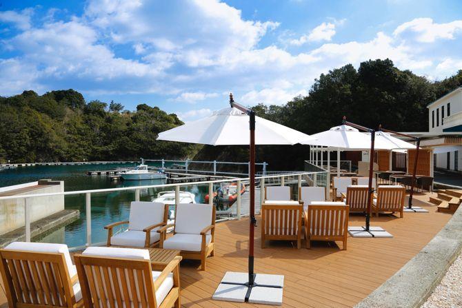 伊勢志摩の高級リゾート「NEMU HOTEL&RESORT」のマリーナ