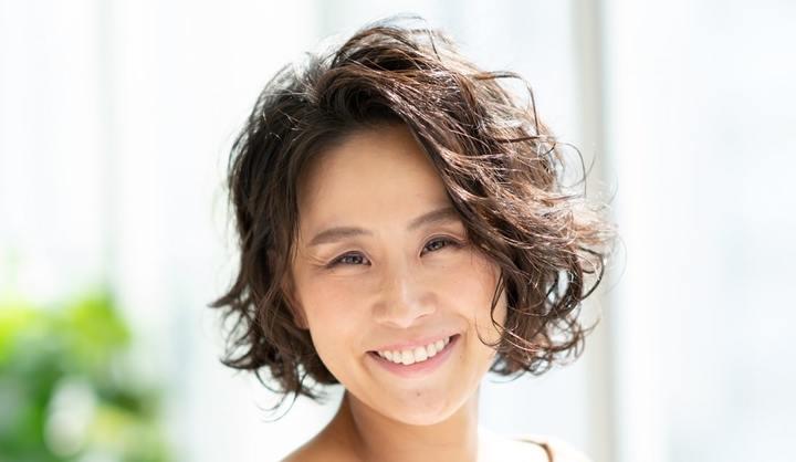 卵型のショートヘア代表:鈴木晴子さん(42歳/主婦)