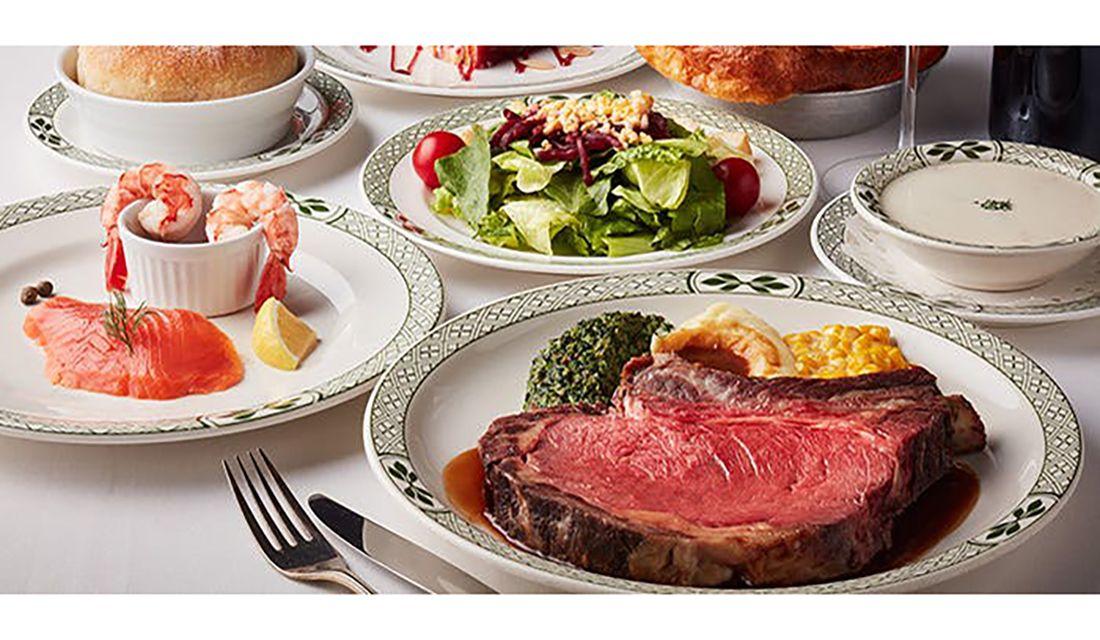 ロウリーズ・ザ・プライムリブ 恵比寿ガーデンプレイス店の料理例