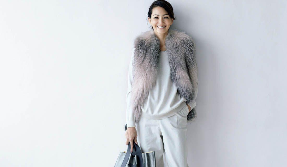 冬に着たい白ワイドパンツレディース着こなし集