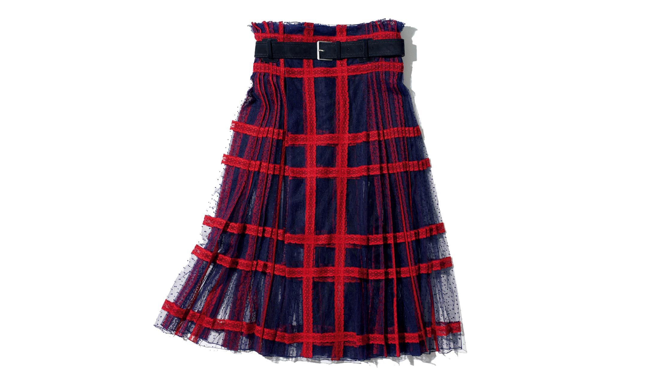 ディオールのキルトスカート