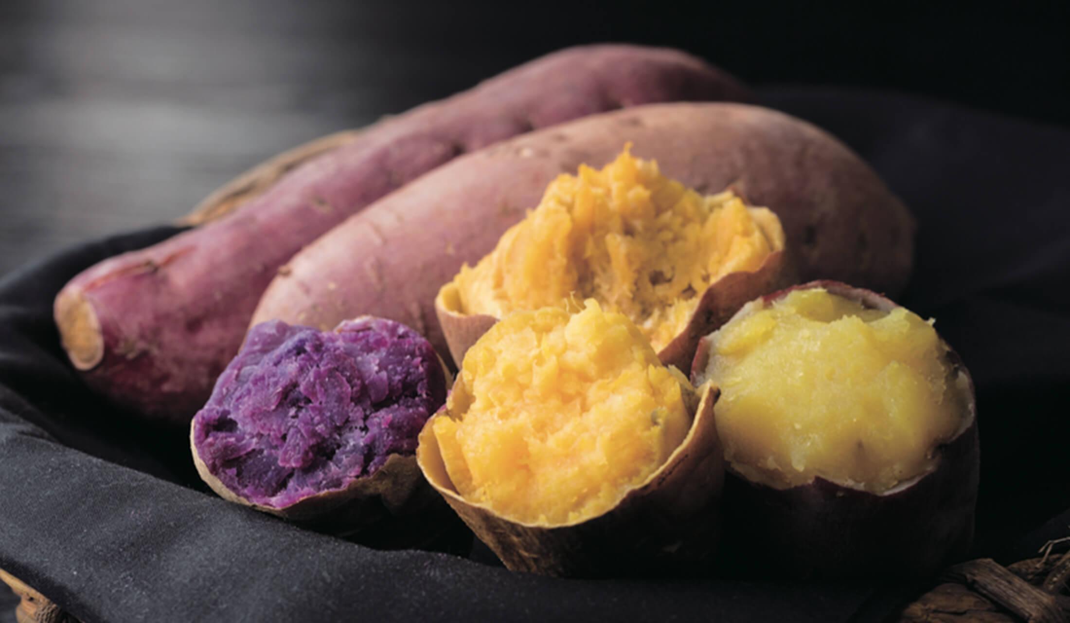 焼き芋2種