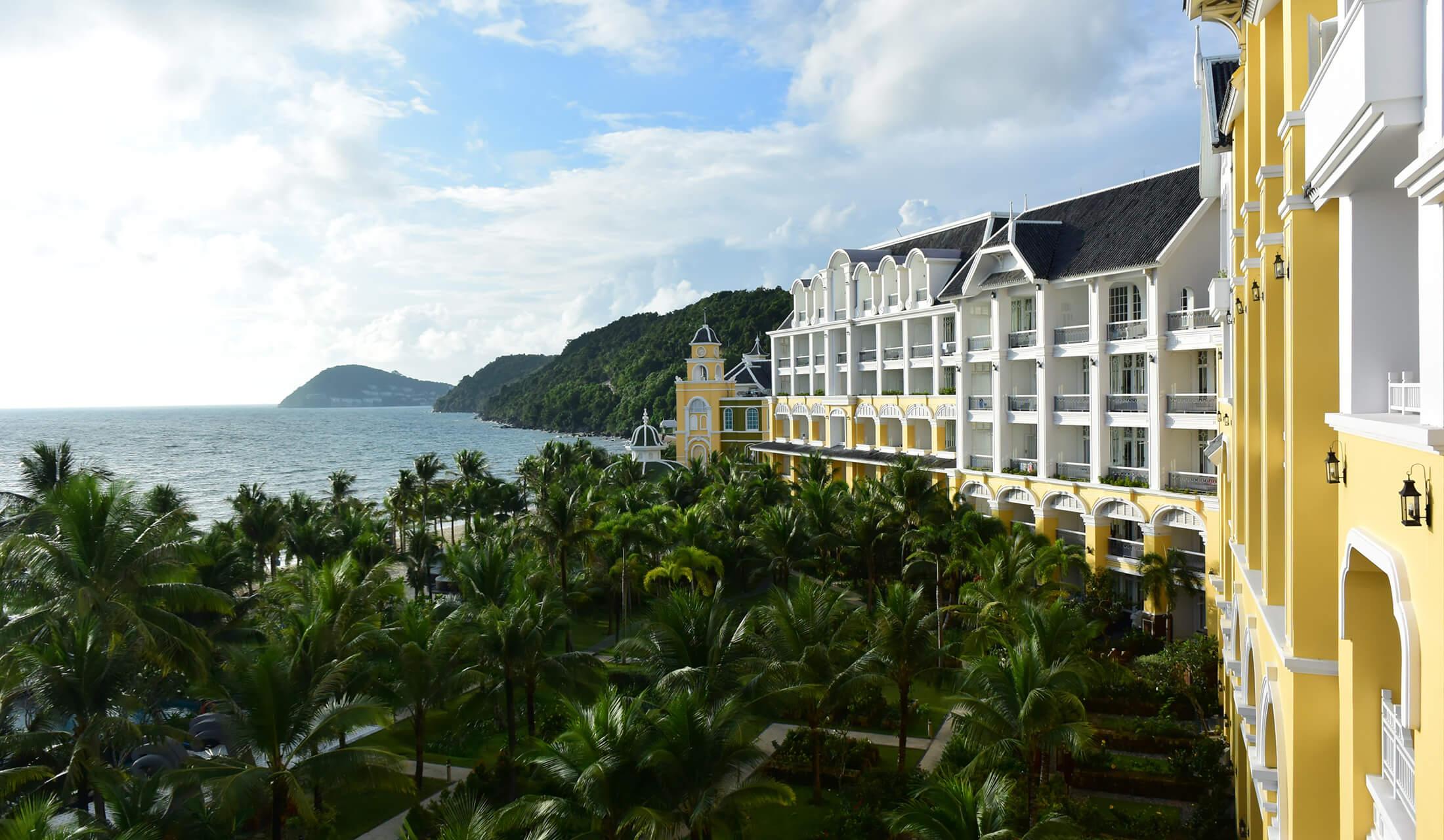 ベトナムのフーコック島にある、JWマリオット・フーコック・エメラルド・ベイ・リゾート&スパ