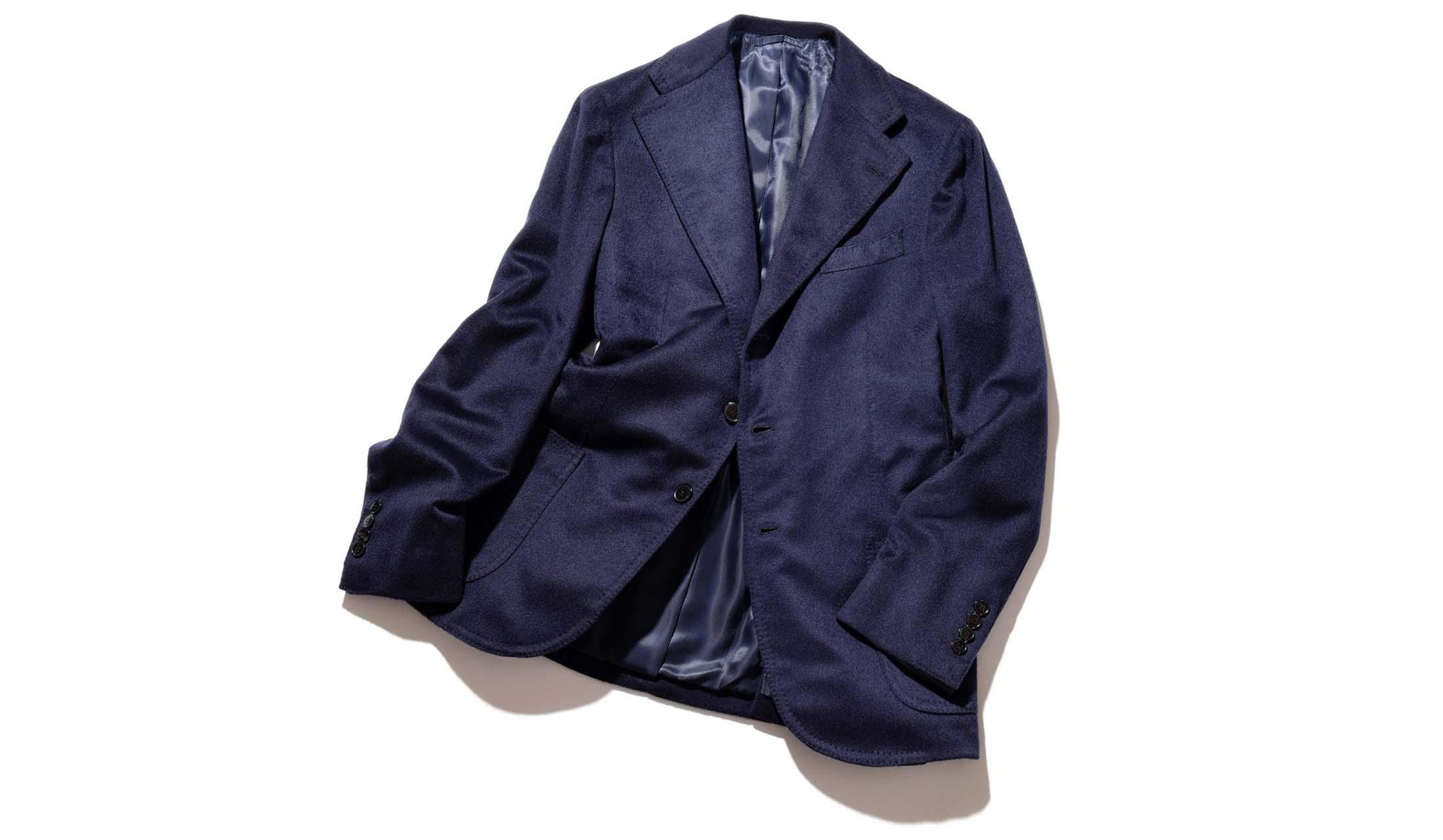 ルカ グラッシアのカシミヤジャケット