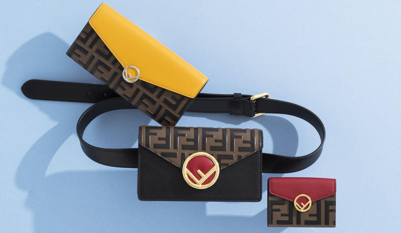 「エフ イズ フェンディ」の長財布、三つ折り財布、ウエストポーチ型ウォレットの物写真