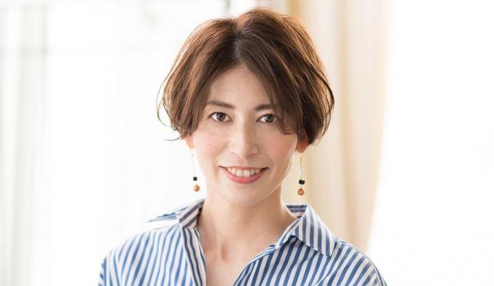 Un ami omotesando代表のブチさんが手がけたショートヘアの女性