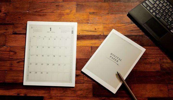 紙の良さとデジタルならではの機能を搭載した無限ノート。超軽量・薄型の電子ペーパー「FMV-DPP01」