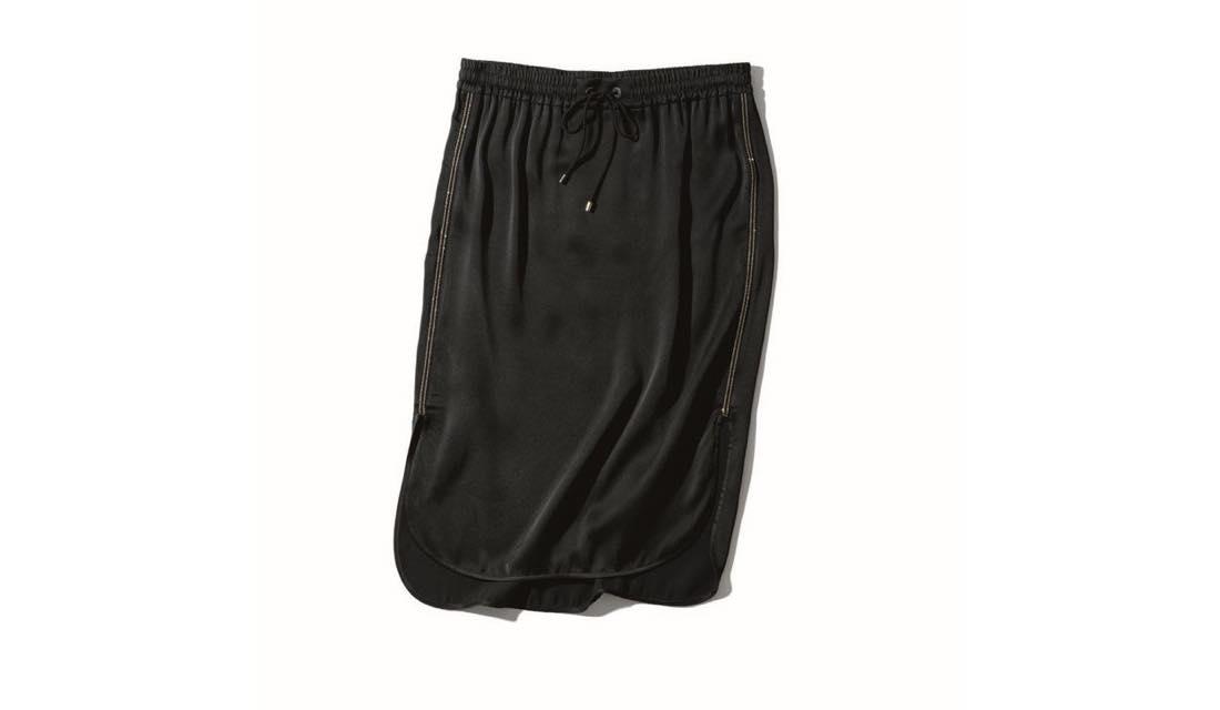 ブルネロ クチネリのドローストリングタイトスカート