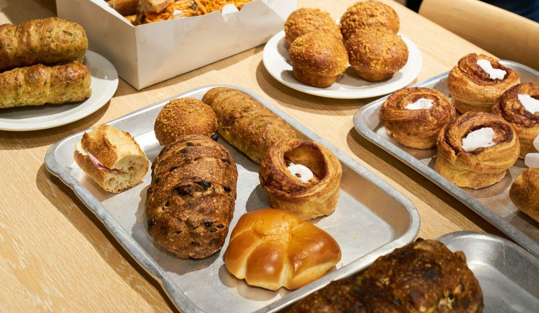 「おつかいパンライド」イベントで提供されたパン