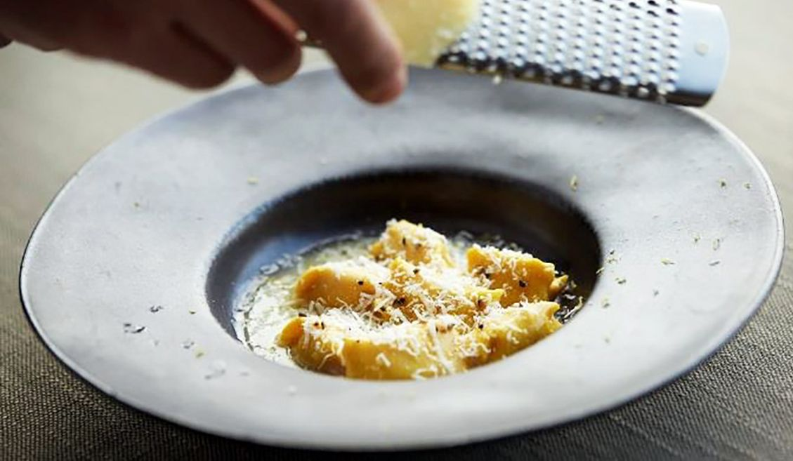 アマン東京のイタリアレストランアルヴァの料理