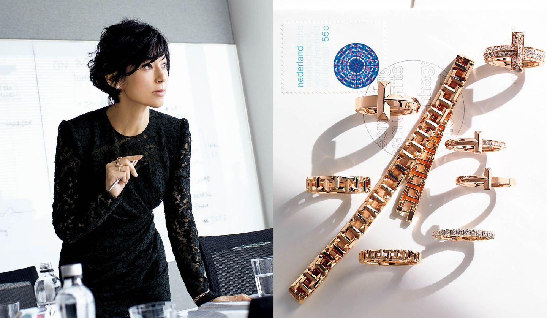 鈴木保奈美さんとティファニーの指輪「ティファニーT1」・ブレスレット