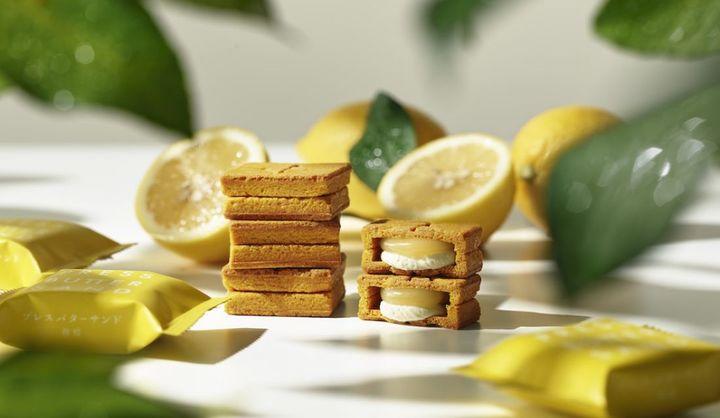 プレスバターサンドの中国・四国限定「バターサンド<檸檬>」