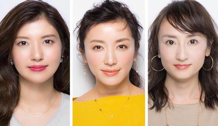 美眉な女性3人