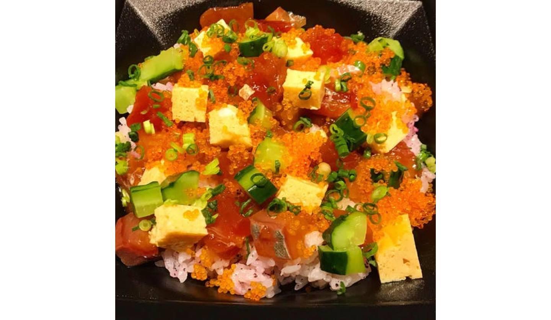 焼はまグリル too 市ヶ谷のチラシ寿司