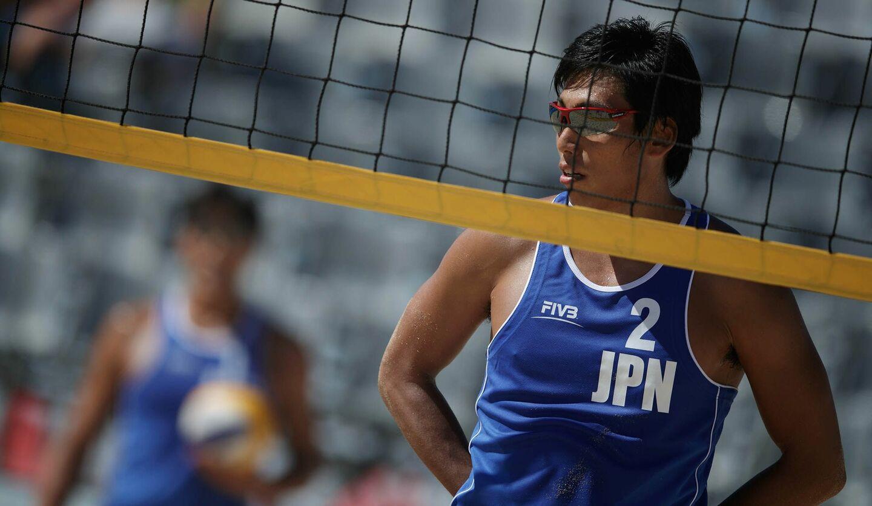 バレーボール選手、プロビーチバレーボール選手の越川優選手