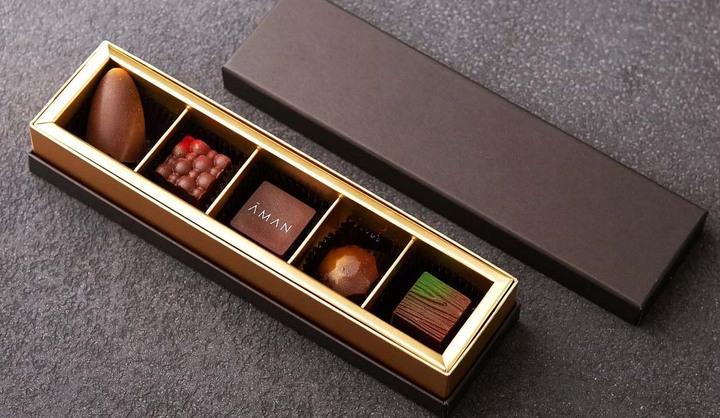 アマン東京の「アマン東京 オリジナルチョコレート 5個セット」