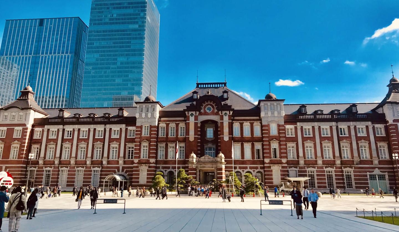 丸の内側の東京駅
