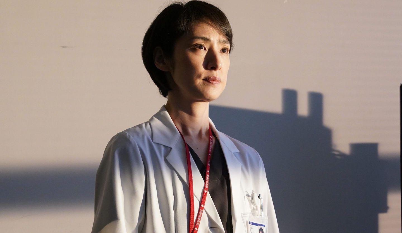 『トップナイフー天才脳外科医の条件ー』深山瑤子(天海祐希さん)©日本テレビ