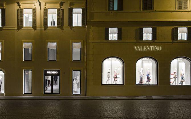 VALENTINO(ヴァレンティノ)のショップ外観