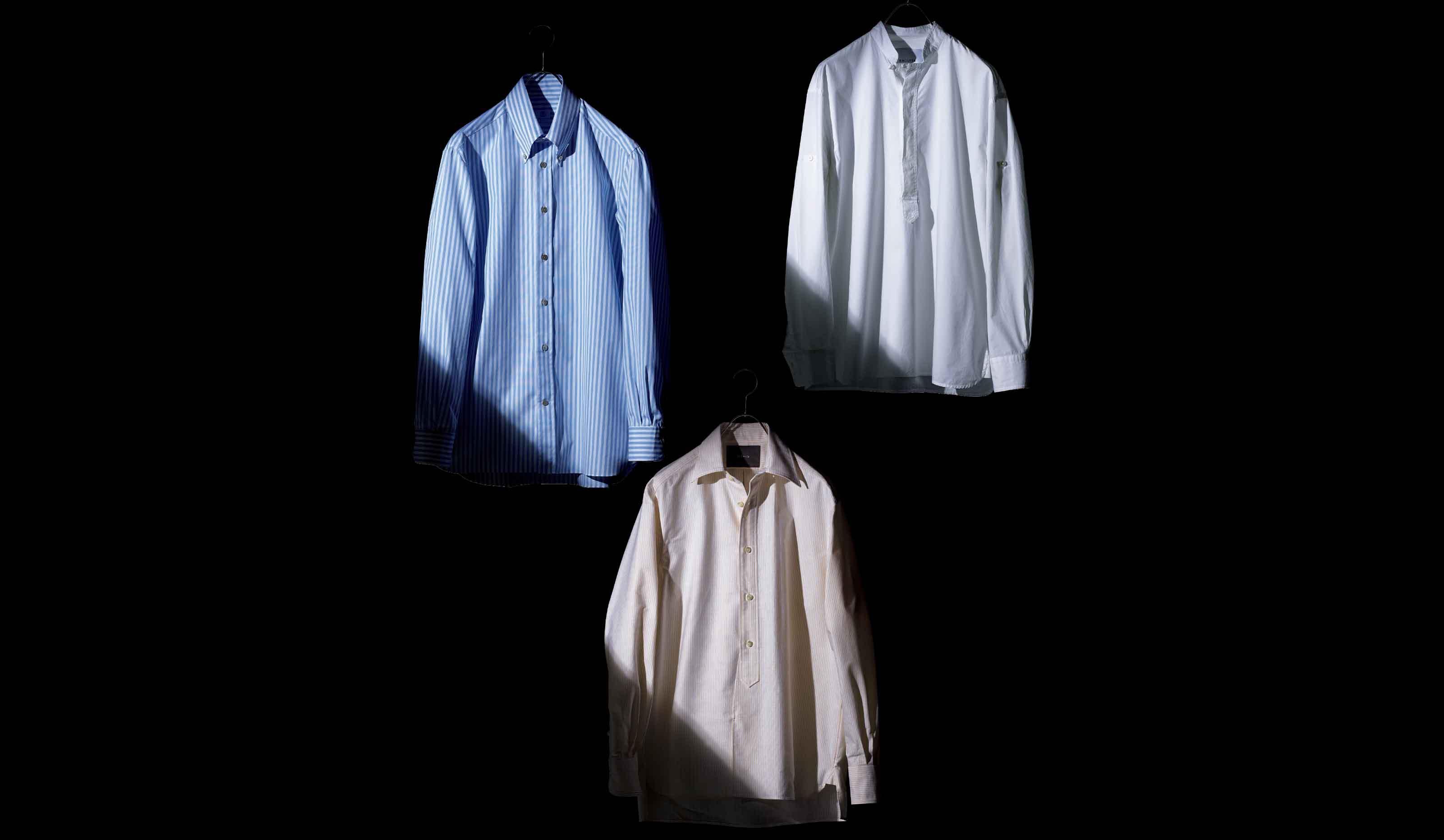 ヴァナコーレ、ラファーボラ、バグッタのシャツ