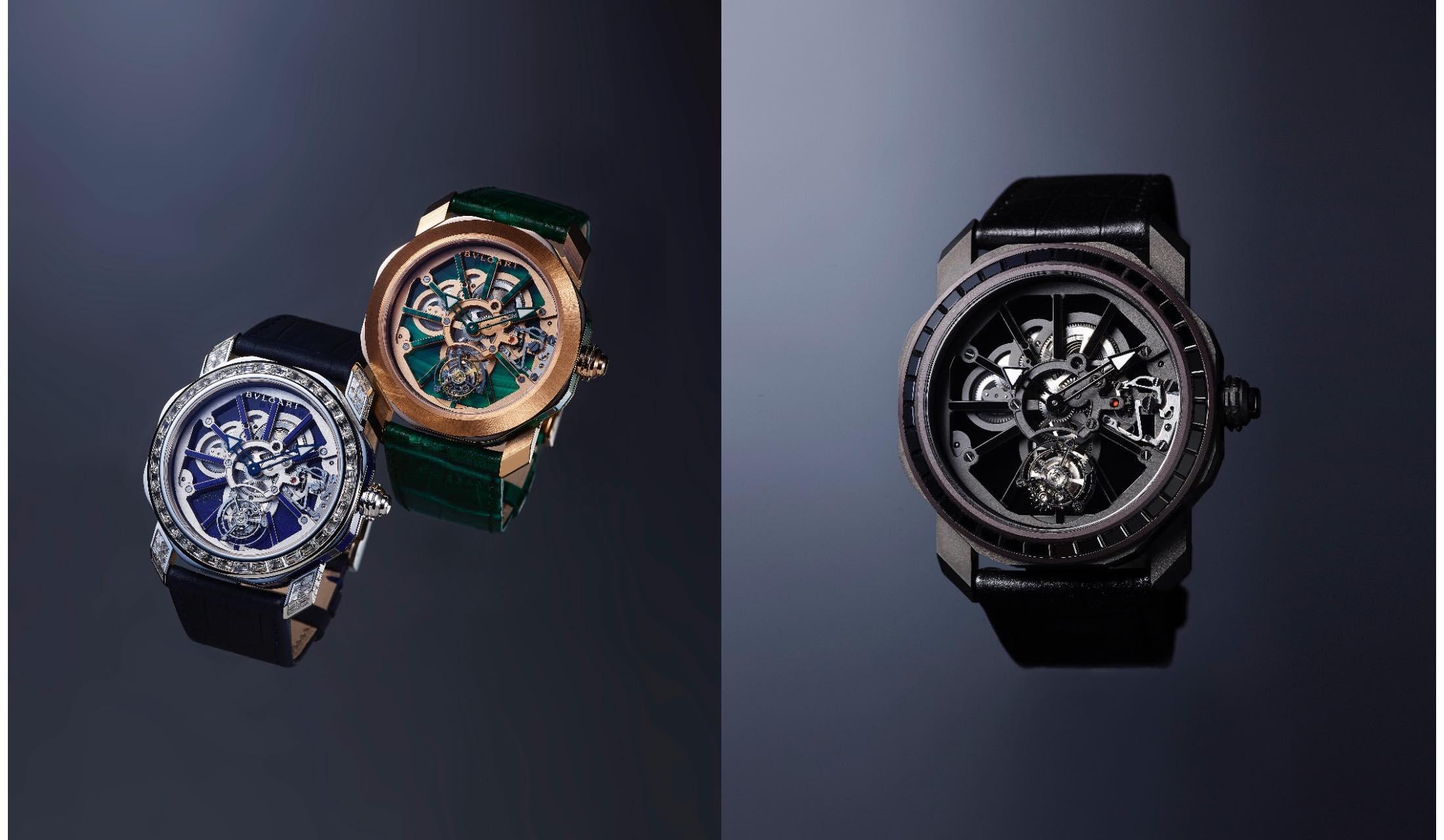 ブルガリの時計「オクト ローマ ナチュラリア」