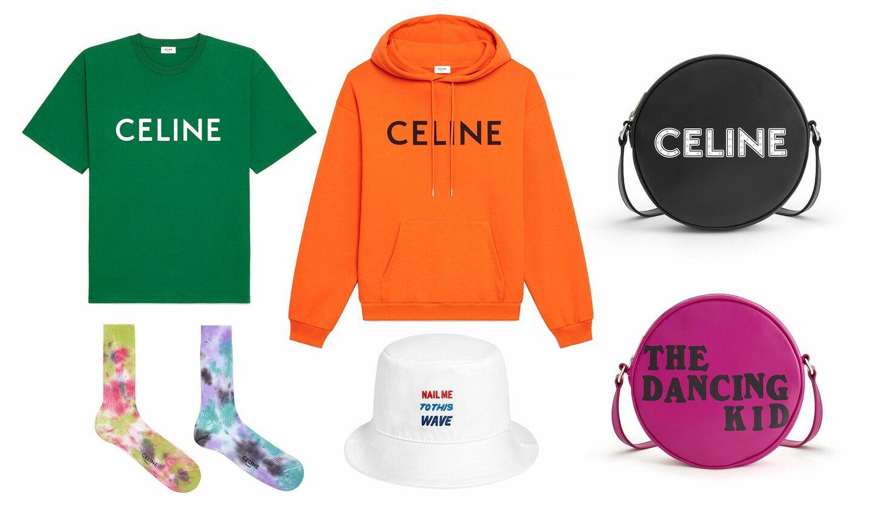 セリーヌ「ザ・ダンシング・キッド」ポップアップストアに登場するTシャツやフーディー、カバンや小物など