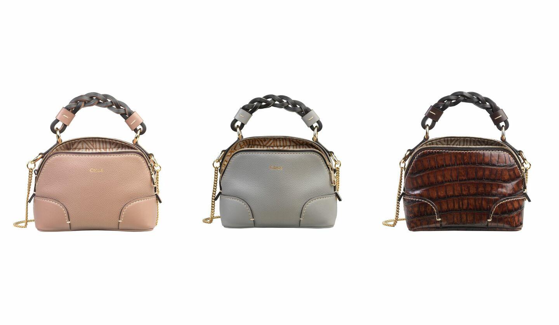 クロエの「ダリア」バッグをコンパクトにアップデートした新作バッグ