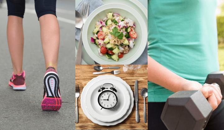 効果的な運動・筋トレ・ランニング・食べ物